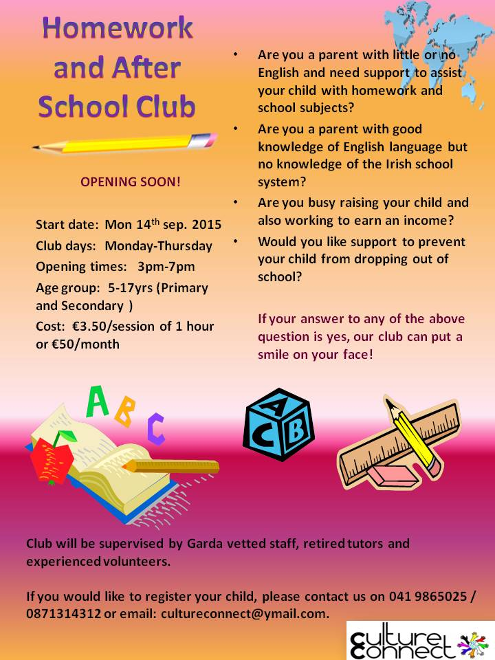 homework club help in after school programs After school programs/homework help   after-school programs: homework club this is a free, voluntary support program for students seeking assistance with homework.